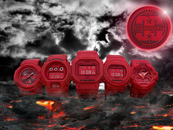 ALL RED OUT Collection - JAPAN